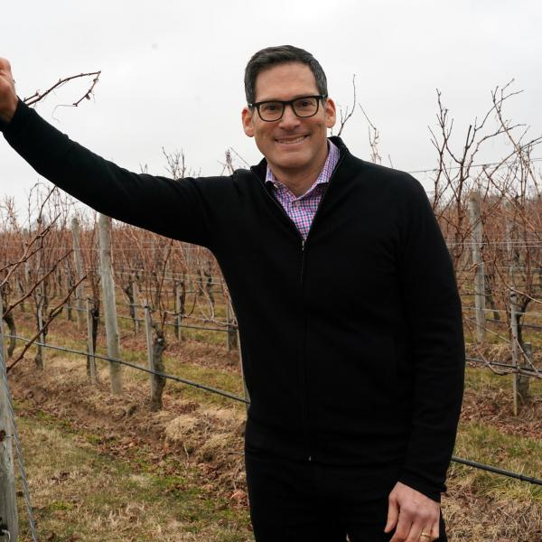 "Alumnus Bruce Schneider profiled in the New York Times: ""He's in a Cab Franc State of Mind"""