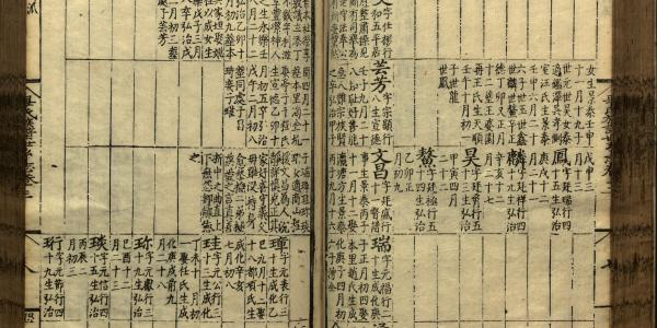 Genealogies as political objects in Early Modern China